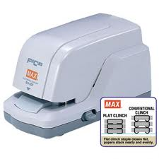 Max EH-20F electric stapler